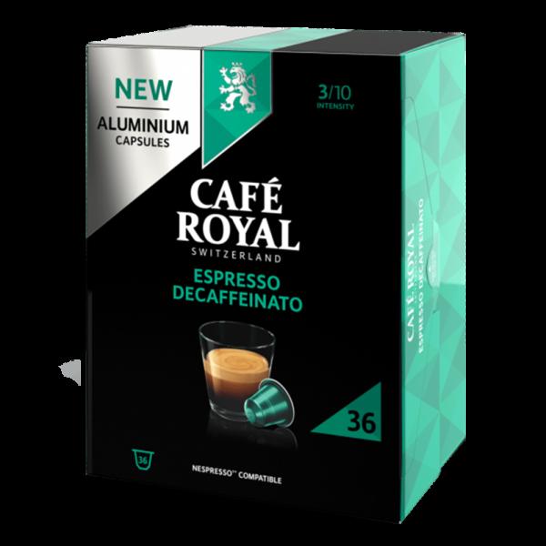 Café Royal Espresso Decaffeinato, 36 Kapseln