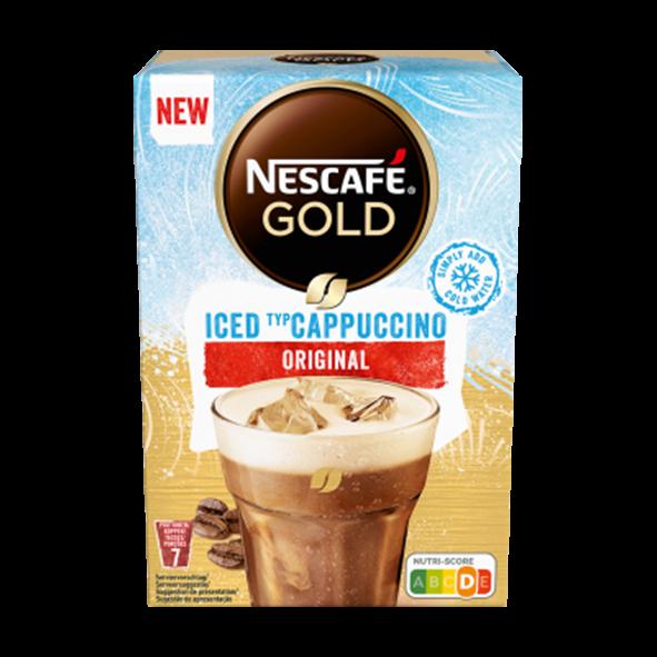 Nescafé Gold Iced Cappuccino Original, 7 Portionen
