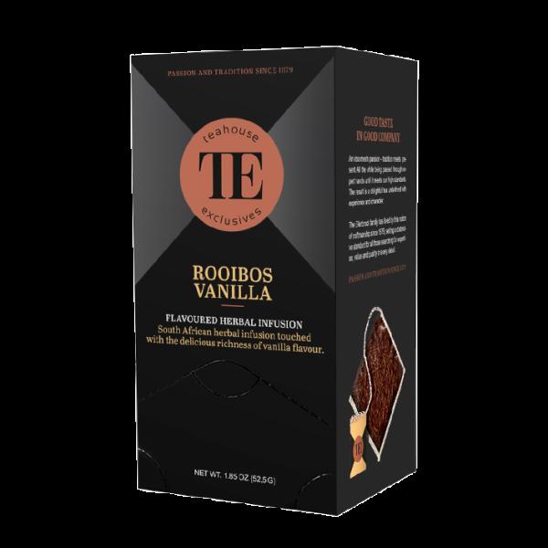 teahouse exclusives TE Rooibos Vanilla, 15 Luxury Tea Bag