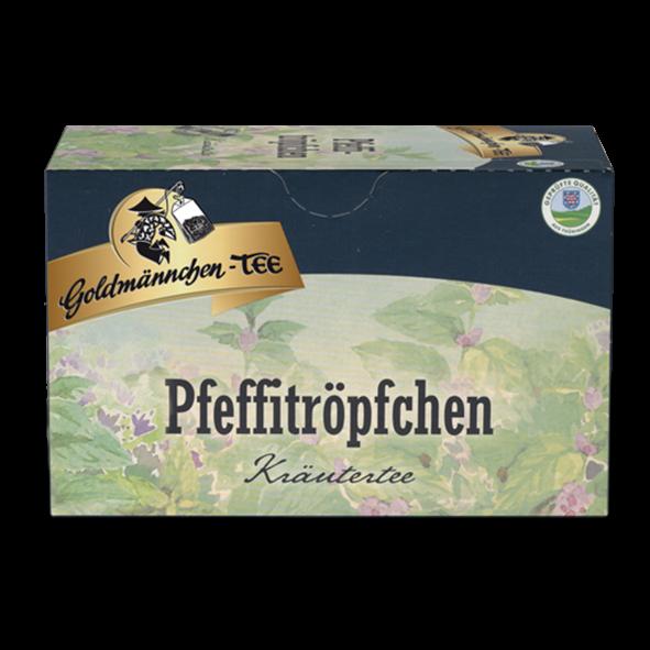 Goldmännchen-TEE Pfeffitröpfchen