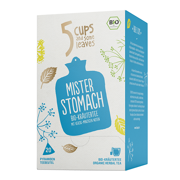 5 CUPS and some leaves Bio Mister Stomach
