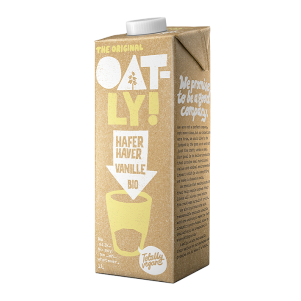 Oatly Hafer Vanille Bio, 1 Liter