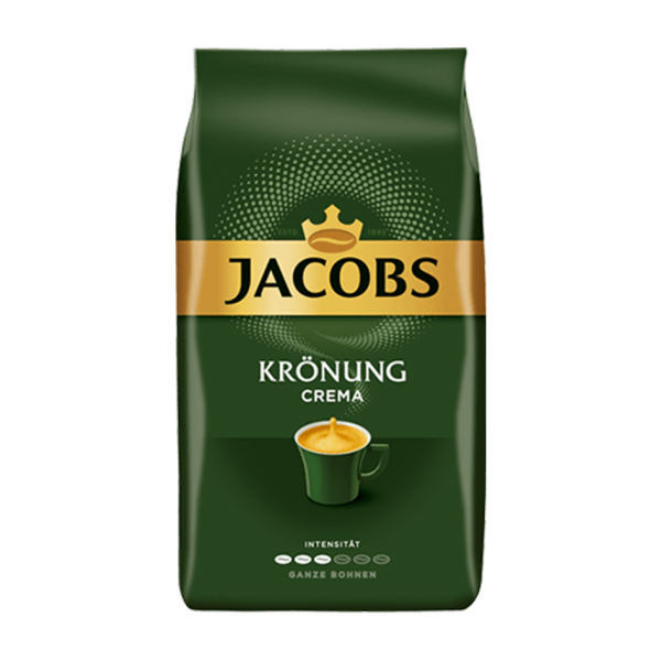 Jacobs Krönung Caffè Crema, 1000g ganze Bohne