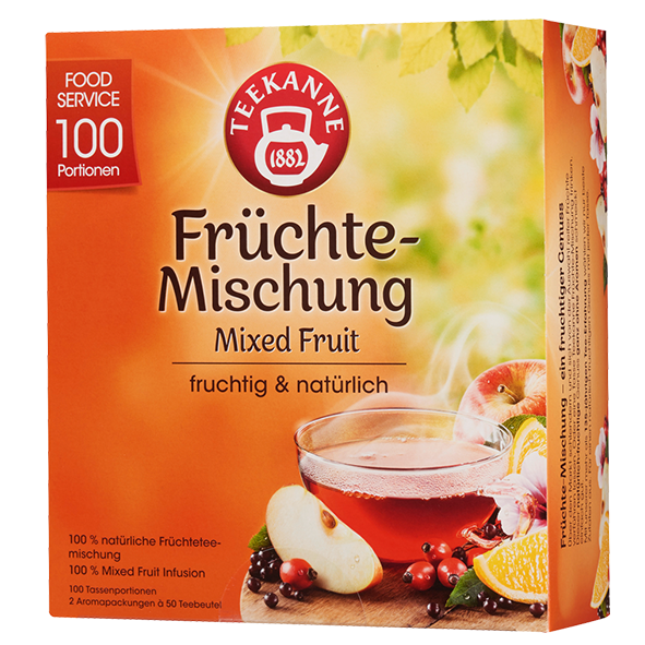 Teekanne Früchte-Mischung, 100 Beutel