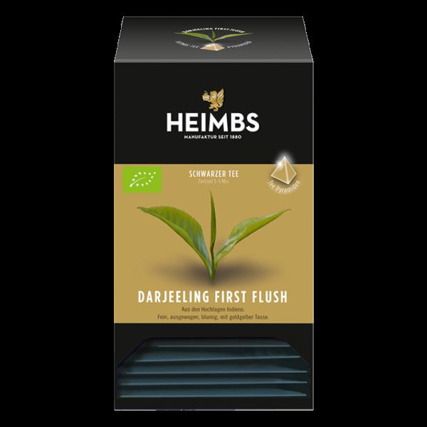 HEIMBS Bio Darjeeling First Flush, 20 Pyramidenbeutel