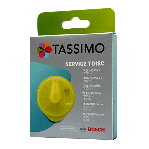 Bosch Service T DISC Reinigungsdisc Gelb für TASSIMO-Geräte