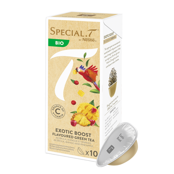 Special.T Bio Exotic Boost Flavoured Green Tea