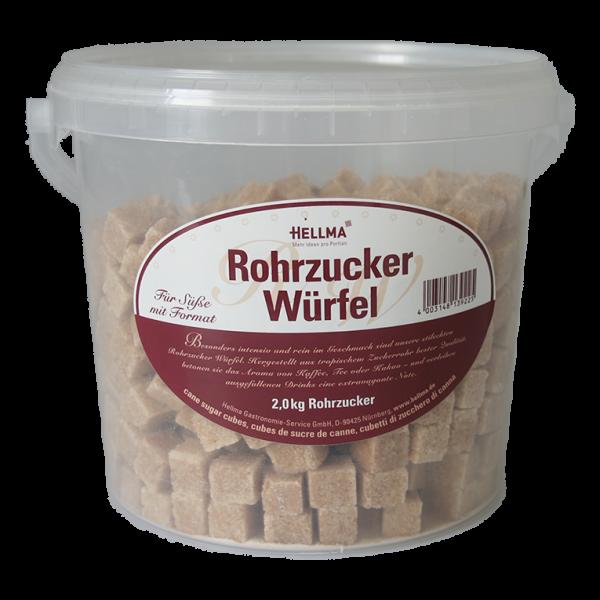 Hellma Rohrzucker Würfel 2 kg