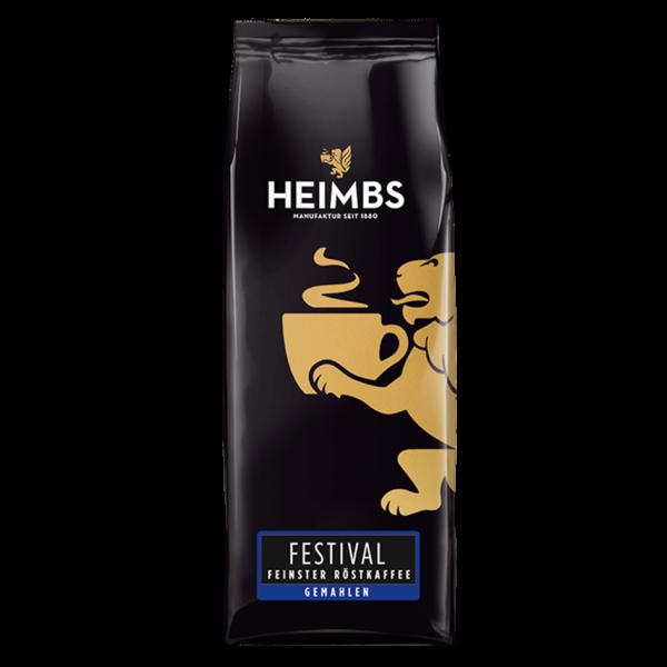 HEIMBS Festival Feinster Röstkaffee, 250g gemahlen
