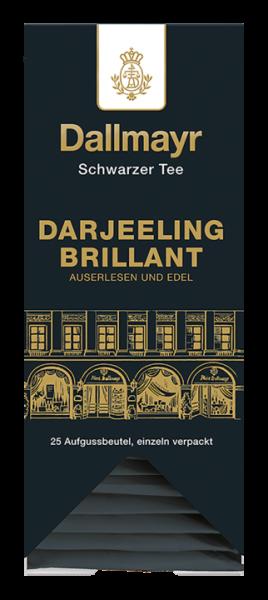 Dallmayr Darjeeling Brillant, 25 Aufgussbeutel