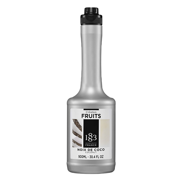 Maison Routin 1883 Creation Fruit Fruchtpüree Kokosnuss, 0,9L PET