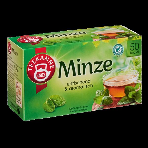 Teekanne Erfrischende Minze, 50 Beutel