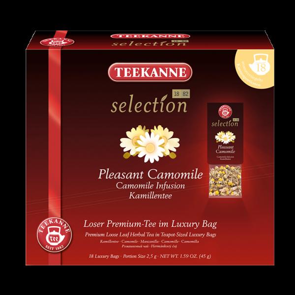 Teekanne selection Pleasant Camomile, Luxury Bag