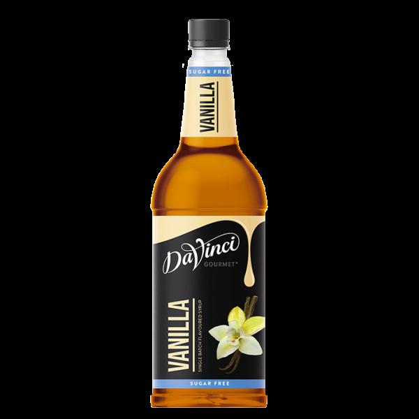 DaVinci Gourmet Sirup Sugar Free Vanille, 1,0L PET