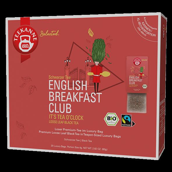 Teekanne Selected Bio English Breakfast Club, 20 Luxury Bags