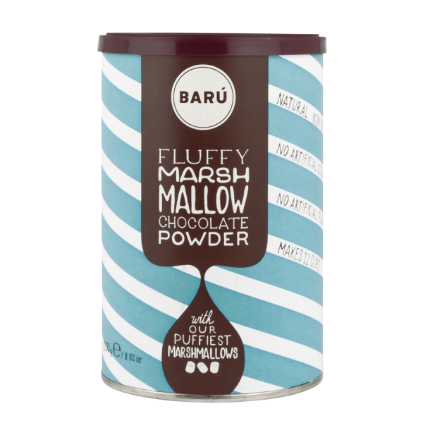 Barú Fluffy Marshmallow Chocolate Powder, 250g