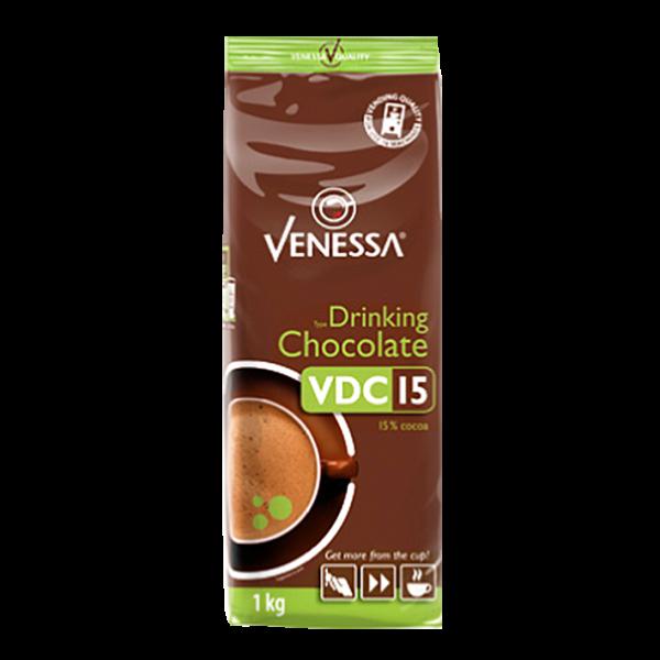 Venessa VDC15 Drinking Chocolate Kakaopulver, 1000g