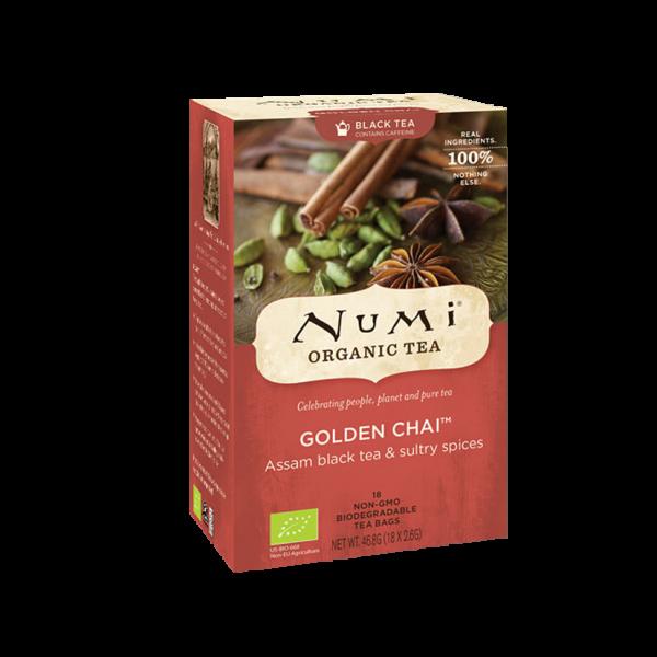 Numi Organic Tea Golden Chai™