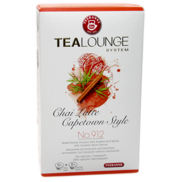 """TEALOUNGE No. 912 """"Chai Latte Capetown Style"""" von Teekanne"""