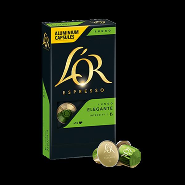 L'OR Espresso Lungo Elegante, 10 Kapseln