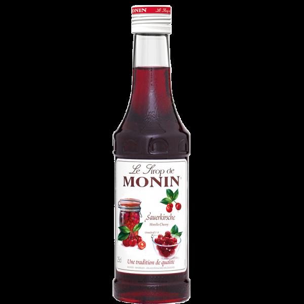 Monin Sirup Sauerkirsche, 0,25L