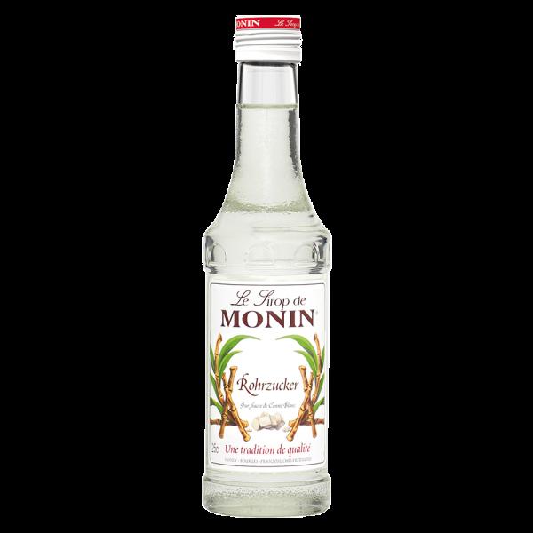 Monin Sirup Weißer Rohrzucker, 0,25L