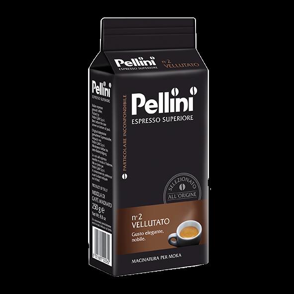 Pellini Espresso Superiore n° 2 Vellutato, 250g gemahlen