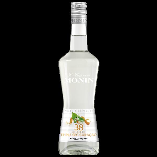 Monin Likör Triple Sec Curaçao 38% Alk., 0,7L