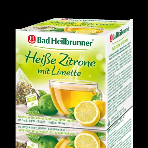 Bad Heilbrunner® Heiße Zitrone mit Limette