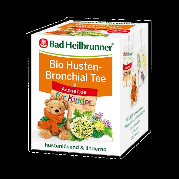 Bad Heilbrunner® Bio Husten-Bronchial Tee für Kinder