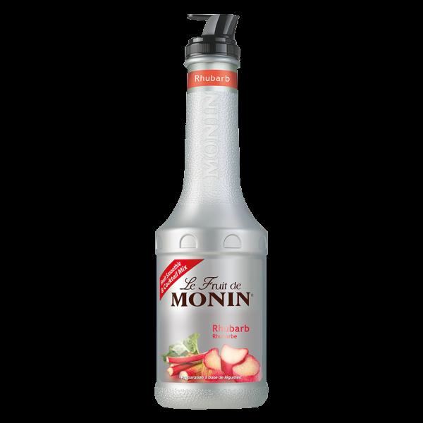 Monin Fruchtpüree Mix Rhabarber, 1,0 L