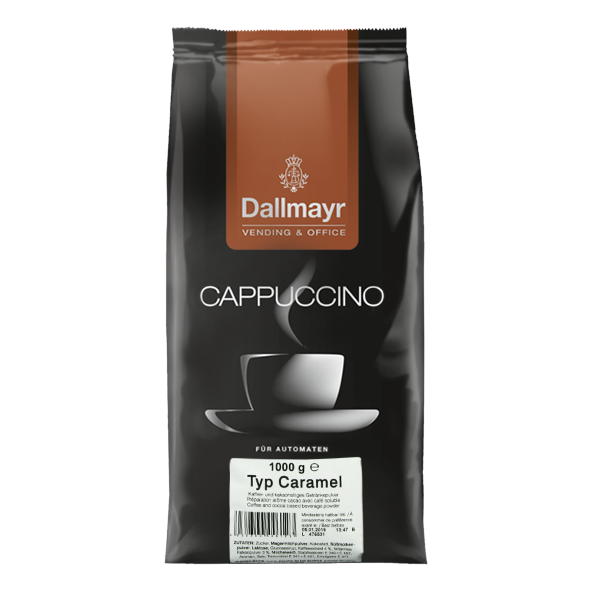 Dallmayr Cappuccino Caramel Vending & Office, 1000g