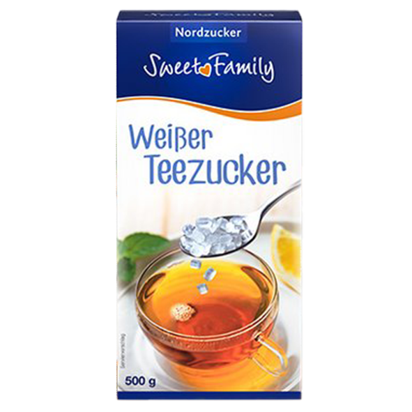 Sweet Family Weißer Teezucker, 500g