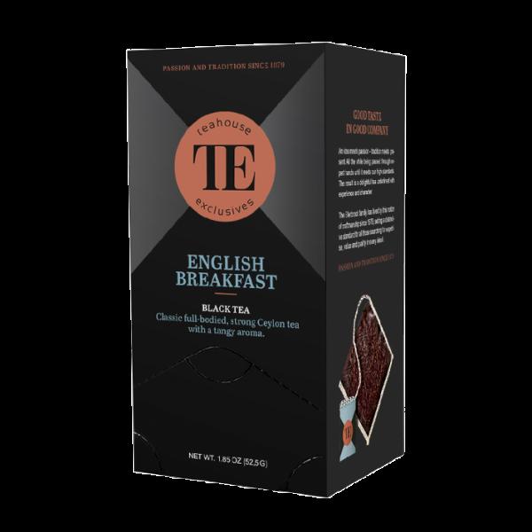 teahouse exclusives TE English Breakfast, 15 Luxury Tea Bag