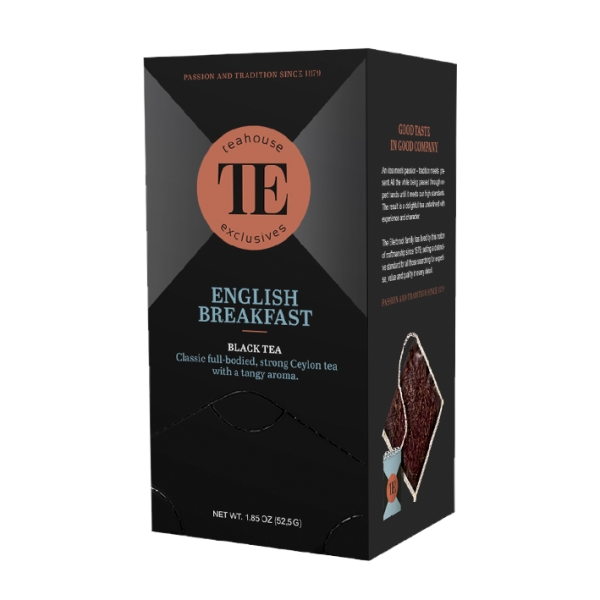 teahouse exclusives TE English Breakfast, 15 Luxury Tea Bag