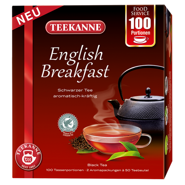 Teekanne English Breakfast, 100 Beutel