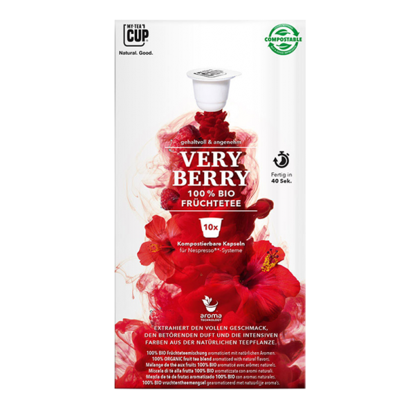 My-TeaCup Bio Very Berry, 10 Kapseln