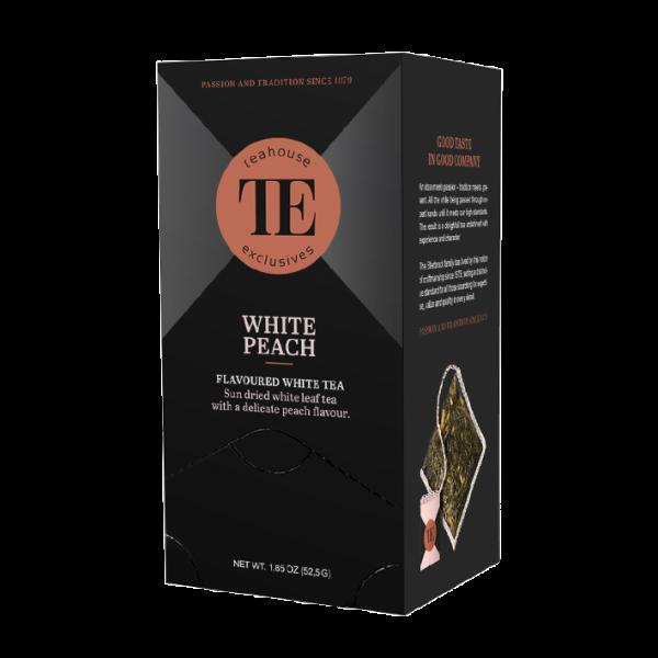 teahouse exclusives TE White Peach, 15 Luxury Tea Bag