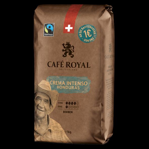 Café Royal Crema Intenso Honduras, 1000g Bohnen