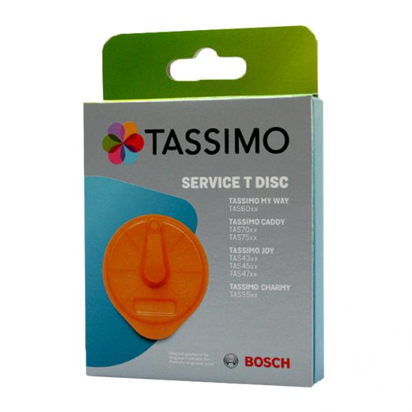 Bosch Service T DISC Reinigungsdisc Orange für Tassimo T55