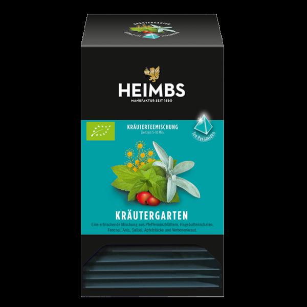 HEIMBS Bio Kräutergarten, 20 Pyramidenbeutel