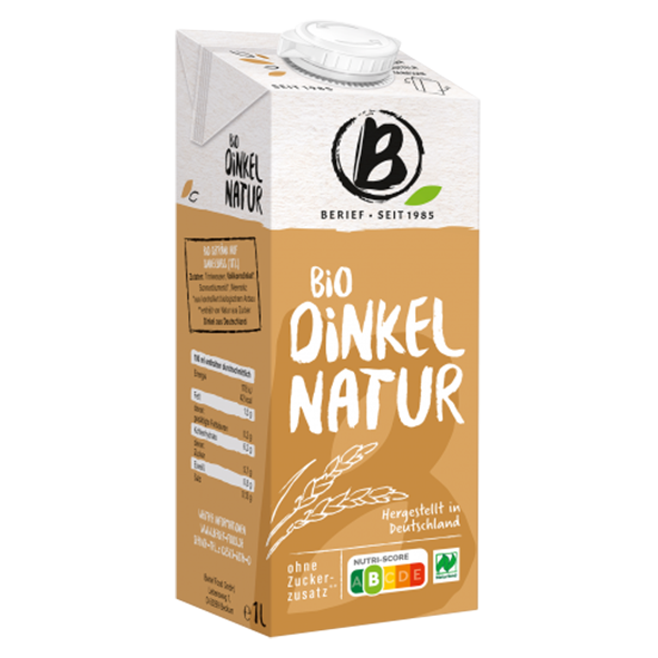 Berief Bio Dinkel Drink Natur, 1L