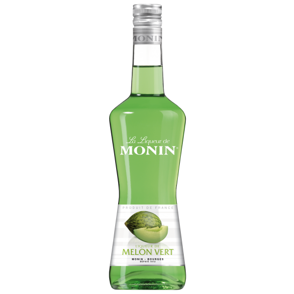 Monin Likör Grüne Melone 20% Alk., 0,7L