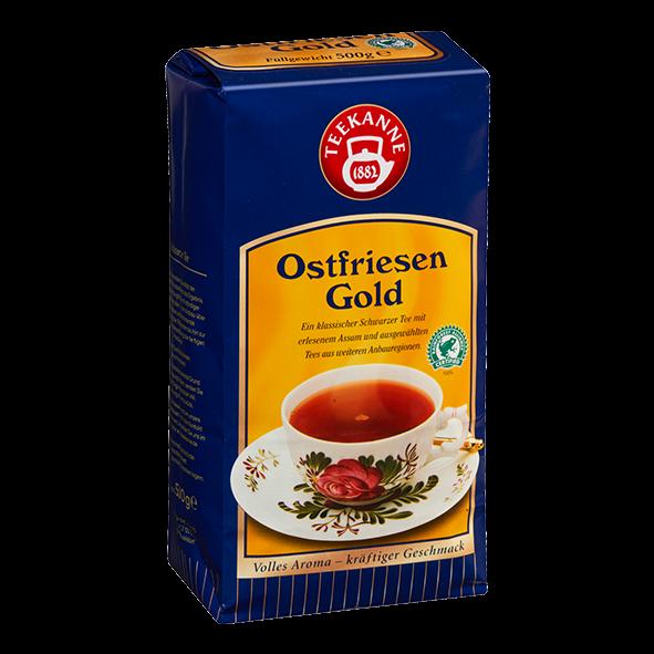 """Teekanne """"Ostfriesen Gold"""", loser Tee, 500g"""