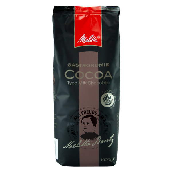 Melitta Gastronomie Cocoa Type Milk Chocolate, 1000g