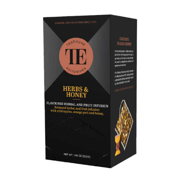 teahouse exclusives TE Herbs & Honey , 15 Luxury Tea Bag