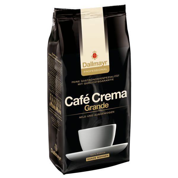 Dallmayr professional Café Crema Grande, Ganze Bohnen, 1000g