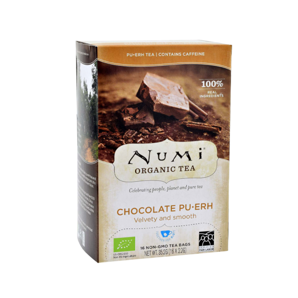 Numi Organic Tea Bio Chocolate Pu-Erh