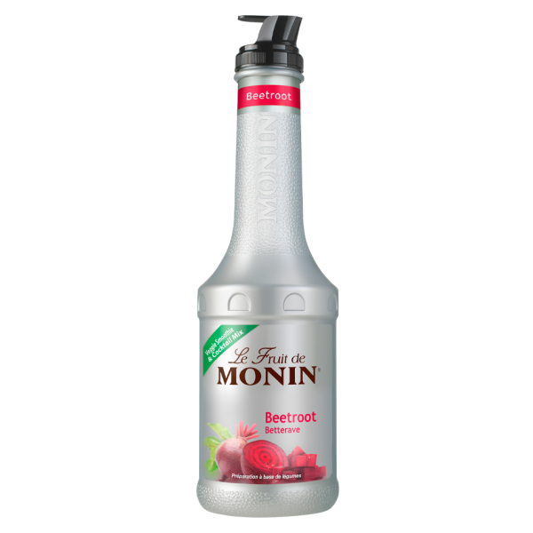 Monin Fruchtpüree Mix Rote Beete, 1,0 L