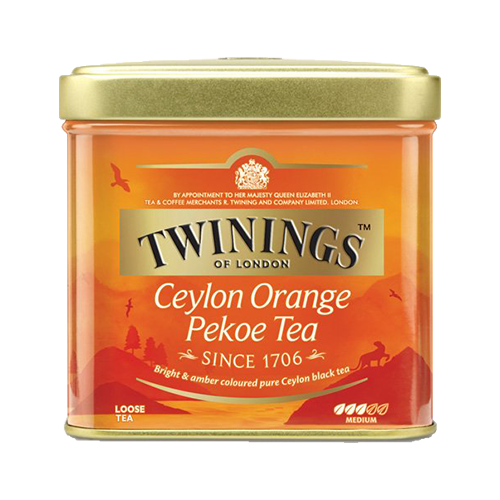 Twinings Ceylon Orange Pekoe Tea, 100g Dose
